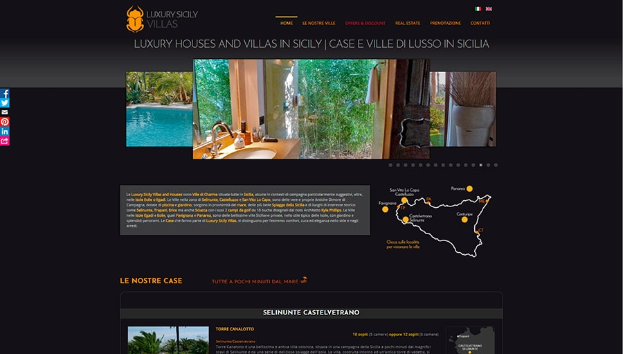 Luxury Sicily Villas